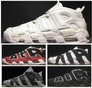 2021 Mais Uptempos Novo 96 QS Olímpico Varsity Maroon Sapatos de Basquete 3M Scottie Pippen Chicago Trainers Esportes Sneakers O Novo