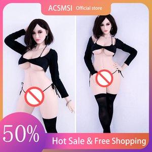ACSMSI-158cm Real Silicone Sex Dolls Robot Beautiful Smile Lifelike Love Doll Realistic Adult Toys