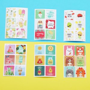24pcs bag Mosquito Repellent Patch Portable Summer Cute Animal Fruit Cone Mosquito Sticker Baby Boys Girls Anti-mosquito Stickers