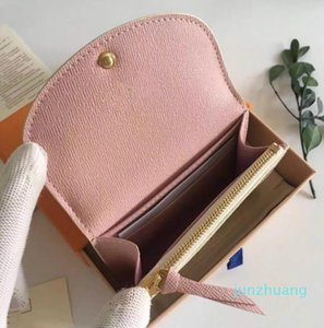 Designer- Women card holder classic short wallet for women Fashion high quality coin purse women wallet classic business card holder lady