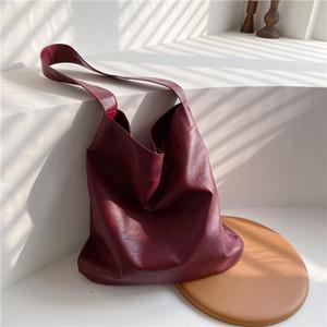 2021 зимняя повседневная сумка женские сумка женская классическая простая краткая мягкая PU кожаная сумка леди сплошной цвет hasp ежедневные сумки