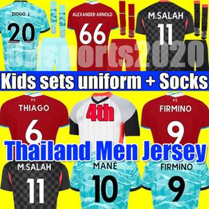 NEW 20 21 LVP Tops fourth ALEXANDER ARNOLD DIOGO J 4th soccer jersey MILNER A.BECKER football shirt men kit 2020 2021 KEITA kids sets socks