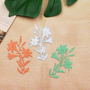 Painting Supplies Lily Metal Knife Die Scrapbook DIY For Greeting Card Decoration Embossing Paper