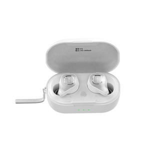 SOHOKDA Factory Original F8 Human Physics Design BT5.0 IPX6 Waterproof Blue Tooth Earbuds Earphone TWS With Wireless Charger