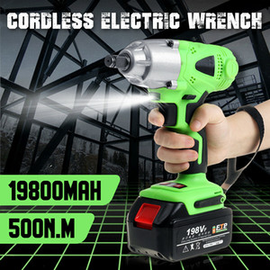 New product 550N.M Electric Cordless Brushless Impact Wrench 198VF 3000rpm Ratchet Driver