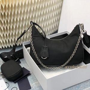 Горячие проданы проданные женские сумки сумки кошельки нейлоновые сумки на плечо Crossbody Multi Pochette Re Edition 2005 Высочайшее качество нейлоновые сумки из известных мешков
