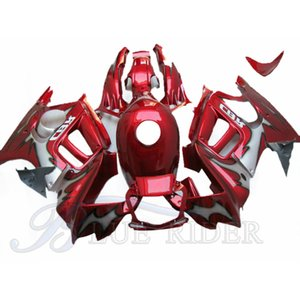 Motobike Injection Mold ABS fairings For HONDA CBR 600 F3 1997 - 1998 CBR600 F3 97 98 Black Red Bodywork Fairing + Tank Cover