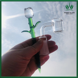 Glass Dabber Tool Wax Stick Carving Tool Carb Cap For Wax Oil Tobacco 14mm Joint Quartz Banger Nails Glass Water Bongs Dab Rigs