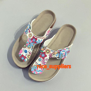 New Slides Summer Style Shoes Womens Orthotic Sandals Cork Slippers Slip-on Casual Classics Flip Flop Size 35-41 Shoe
