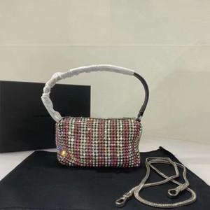 2020 femmes de luxe de luxe sac à main sacs à main de haute qualité diamant brillant petit sac carré de soirée mode sac à main