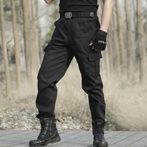 April Momo Men Military Tactical Cargo Pants Men Army Tactical Sweatpants di alta qualità Black Lavoro uomo Pant Abbigliamento Abbigliamento Pantalone 201109