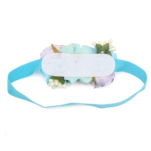 1PC Cute Baby Headbands Faux Flower Party Gift Stretch Elastic Newborn Headband Floral Baby Hair Accessories Hairbands Headwear