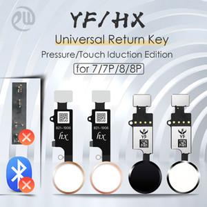 YF JC HX Universal Home Button Flex Cable para iPhone 7 8 Plus Menú Teclado Retorno de la solución de subasta