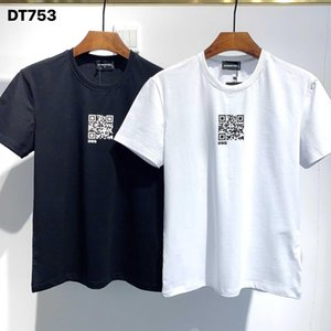 Dsquared2 Dsquared Dsq Dsq2 DQ Phantom Kaplumbağa 2020ss Yeni Erkek Tasarımcı T Gömlek İtalya Moda Tişörtleri Yaz Erkekler DQ T-shirt Erkek En Kaliteli 100% Pamuk Top 4001 Akq
