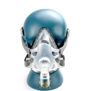 BMC CPAP Tam Yüz Maskesi Anti Horlama Apnesi OSAS OSAHS Tıbbi CPAP Otomatik CPAP BIPAP Malzeme Boyutu S / M / L Başlık ile