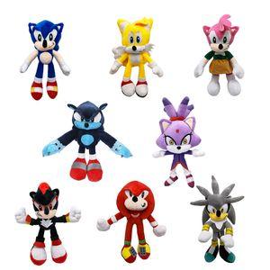 27cm 8 Style Plush Toy Cartoon Soft Stuffed PlushDoll Kid Toys Cute Anime PlushieDoll For Girls Children Birthday Gifts