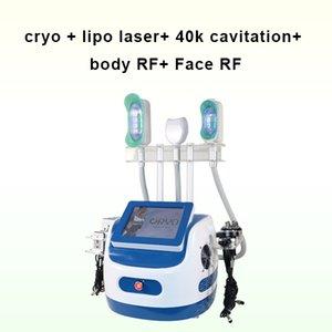 Haute Qualité Trois mains Cryothérapie Cryolipolyse Système de cavation sous vide 650nm LIPO LIPO SERRAING SERRAING SPA Machine d'utilisation