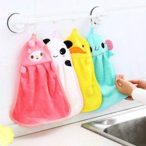 شحن مجاني منشفة اليد شنقا مطبخ الحمام داخلي سميكة لينة القماش مسح منشفة القطن صحن القماش نظيفة منشفة الملحقات ood5517