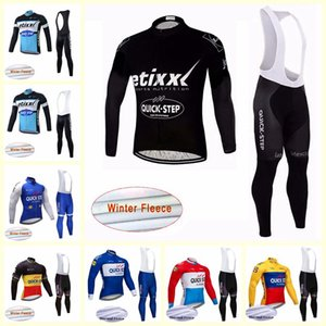 Step Step Quick Cycling Winter Thermal Fleece Jersey Bib Pants Set 2019 3D Gel Pad Cycling Sportswear traspirante Quick Dry U81524