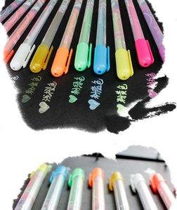 Other Pens Pastels handmade DIY special album black cardboard graffiti watercolor painting brush mark pen FGG5