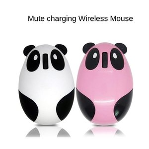 Mice Wireless Charging Mute Mouse Office Notebook Desktop Computer General Cartoon Cute Panda