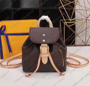 Backpack women handbag purse women fashion knapsack back pack shoulder bag original leather handbag presbyopic package messenger bag LB135