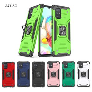 Armor Case for Samsung S21 Plus Military Shockproof Cover with Magnetic Ring Holder for Samsung Note20 Ultra A41 A51 A71 5G