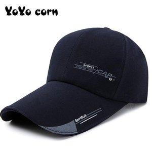 Yoyocorn hombres sombrero de mujer muchachos ajustable primavera al aire libre sombrero sol sol protector sol pesca gorra verano casual sombrero de béisbol