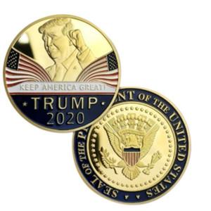 INS 2020 Donald Trump Souvenir moneta dollaro Make America Grande di nuovo monete commemorative Artigianato America Generale Elezione Articoli Prodotto E3409