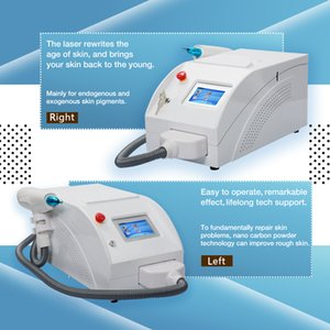 Free shipping The Latest Portable new laser for tattoo removal q switched nd yag machine USA imported laser lamp beauty equipment