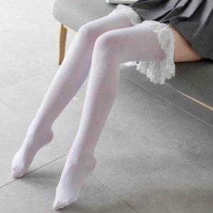 Shengrenmei Lolita Velvet чулок женщина на коленном длинный трубку кружевные чулки сладкая девушка сексуальная косплей середина трубки