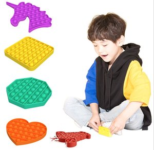 sublimation blanks Factory price hair federal push bubble toys pop it autism special needs stress relieving toys help relieve stress improve