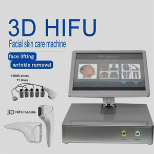Portable 3D Home Use Hifu Machine Facial Massage Anti Aging Helloskin Ultrasound Skin Tightening Device For Wrinkle Removal Therapy