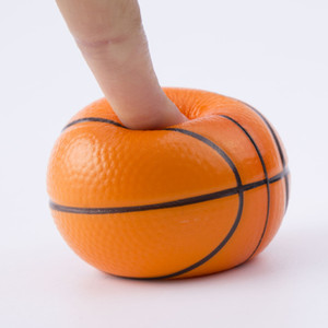 6cm squeeze stress ball squeezy sponge Pu football basketball tennis Baseball decompression toy squishy stress relief fidget balls hH38Q5UX
