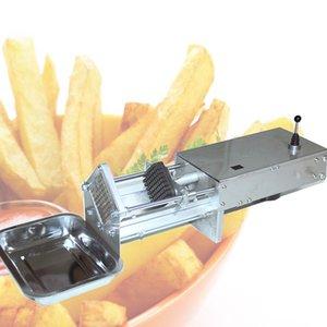 Нержавеющая сталь Главная Картофель Фрретики Фрретики Картофельные Чипсы Стримовая Овощная Режущая машина Машина Maker Slicer Chopper с 3 Лезвиями