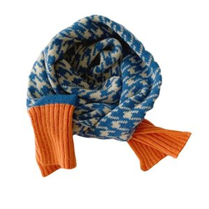 Kids Scarves Children Scarf Baby Ring Boys Girls Accessories Autumn Winter Keep Warm Knitted Wool Soft Long B8965