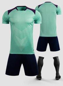 NEW 20 21 ADULT KITMaillot de foot top quality soccer jersey 2020 2021 maillot de foot football Shirt 363