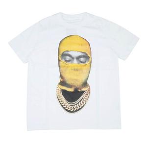 Milan Runway T-Shirt 2021 Spring Summer O Neck Panelled Women's T-Shirt Pullover Women Designer T-Shirt S M L XL XXL