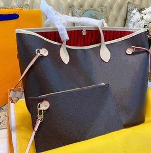 2 unids / set Diseñadores clásicos para mujer Bolsos para mujer Bolsos de las señoras Crossbody Hombro Totes compuestos Monedero femenino con billetera