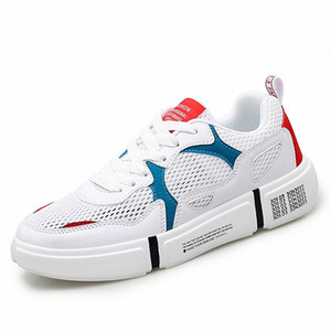 2020 Summer Casual New Style Couple Board Shoes Light Leisure Sports Trendy Shoes Men Breathable Lace Up Size 36 44 Ladies Shoes Loafe r8fG#