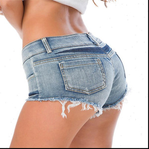 New Womens Shorts Summer Sexy Jeans Shorts Super Mini Booty Short Club Party Dance Casual Skinny Ladies Short S M L