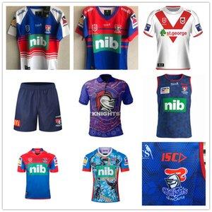 2019 Avustralya Newca Stle Şövalyeleri Ev Yelek Rugby Jersey Newcas Tle Şövalyeleri 2019 Yerli Jersey Jersey De Rugby NRL Rugby League Formalar