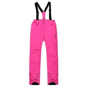 Новые лыжные брюки ветрозащитный альпинизм для мужчин и женщин воздушно-проницаемый открытый водонепроницаемый теплый прогулок