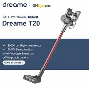 Dreamse T20 Portable aspirateur sans fil 25kpa Strong Aspirateur portable Tout dans un pinceau Pinceau Collecteur de poussière Tapis Aspirateur