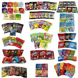 Vuoto Edibles Packaging Bags Candy Gummy Cookie Cereali Bar Chips Mylar Bag Aid Medicated Medy Medy Cubetti Dolci Medibles Infused Gummies