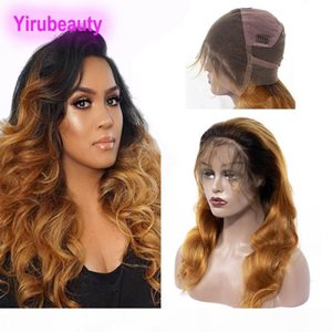 Brazilian Virgin Hair 8-36inch 1B 30# Ombre Color Full Lace Wigs Body Wave 1B 30 Human Hair Lace Wig Full Lace Wig