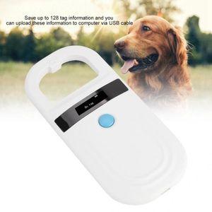 PET RFID LEXER DE CHIP 134.2KHZ 125KHZ FDX-B ISO11784 / 11785 Animal CHIP ID ID Escáner Microchip Scanner PET TAG