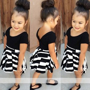 2021 New Summer Toddlers Girls Es Cotton Short Sleeve Girl Clothing Party Kids Clothes 2-6year 7iew