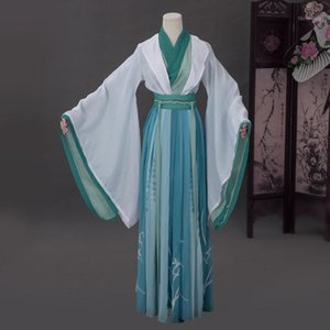 중국어 애니메이션 Tian Guan Ci Fu Cosplay Shi Qingxuan 의상 복장 Unisex Hanfu Dress Halloween Christmas1에 대 한 고대 의상