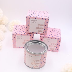 Long Lasting Scented Candles Individual Package Grapefruit Pomegranate Vanilla Soy Wax Scented Candles Gifts for Her OWD5200